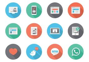 286x200 Free Social Media Icons