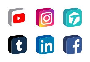 294x203 Social Media Icons
