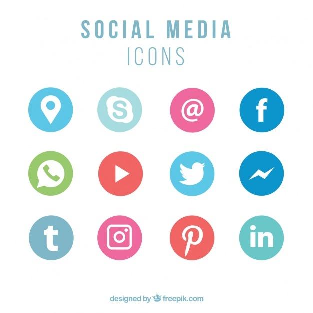 626x626 Vector Social Media Icons Radiotodorock.tk