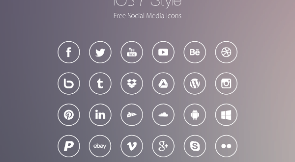 600x330 Free Social Media Icons 2017 In Psd And Vector
