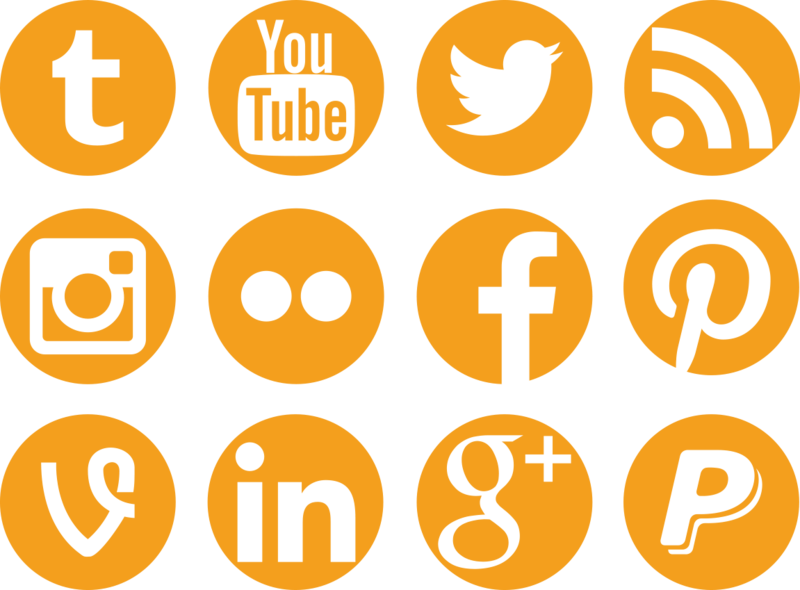 800x590 Social Media Icons By Colourfy Design