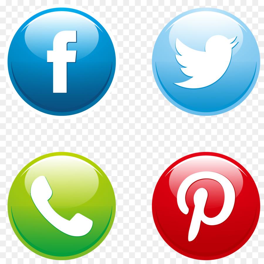 900x900 Social Media Button Euclidean Vector Download Icon