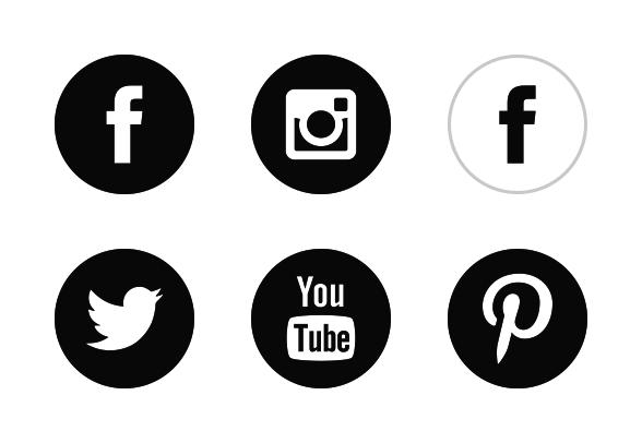 588x406 Social Media Icons Png Transparent Social Media Icons.png Images