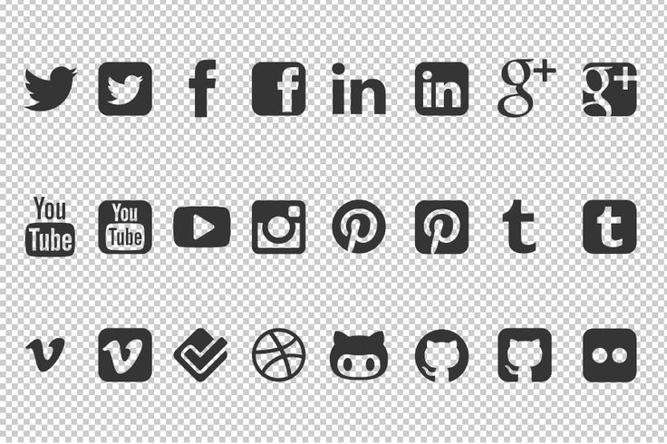 736x490 Social Media Icons Vector Free Icons