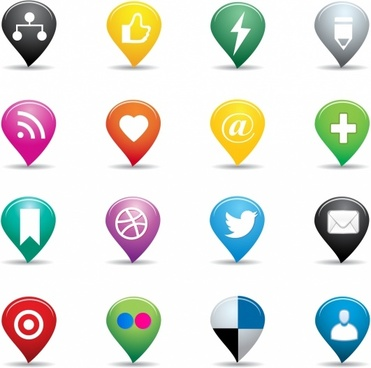 371x368 Heart Social Media Icons Vector Free Vector Download (27,063 Free