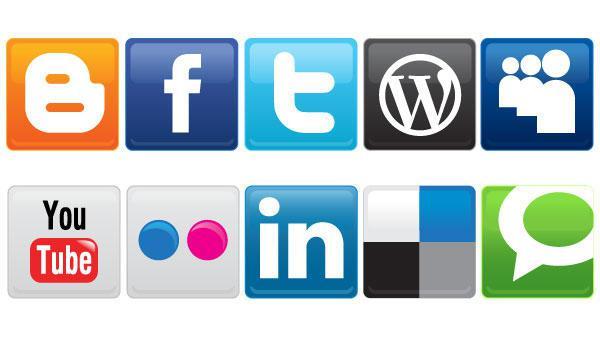 600x350 Vector Social Media Icons Free Download 123freevectors