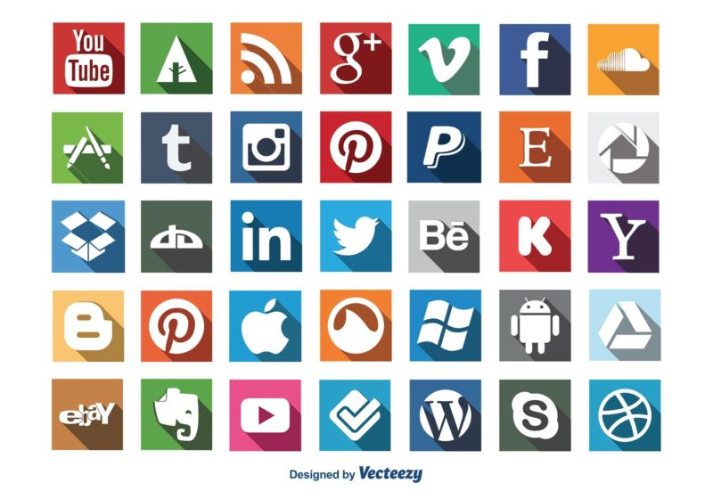 800x560 54 Beautiful [Free!] Social Media Icon Sets For Your Website