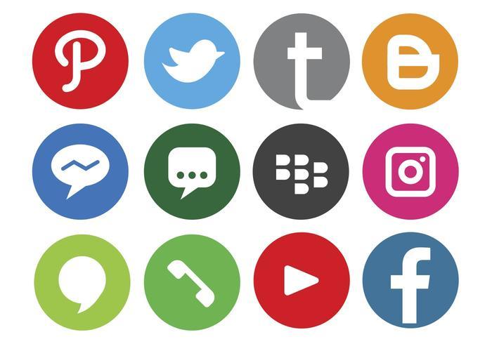 700x490 Social Media Free Vector Art