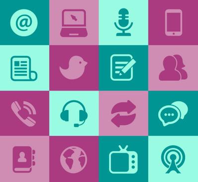399x368 Social Media Icons Vector Free Vector Download (23,913 Free Vector