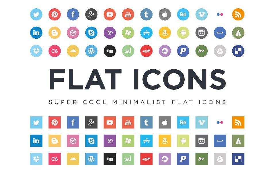 954x600 Best Free Social Media Icon Sets Free Icon Sets
