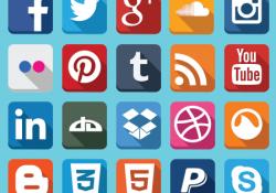 250x175 Social Media Logo Compilation Vector Seek Logos