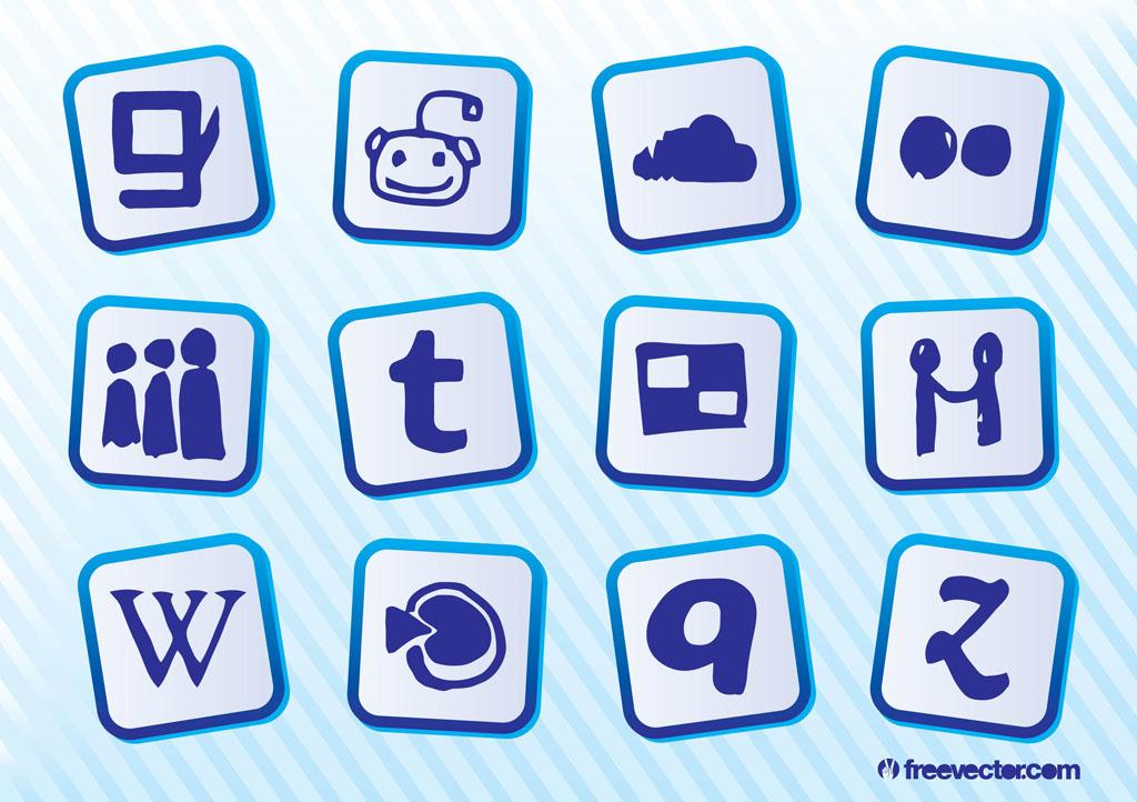 1024x722 Social Media Logos Vector Art Amp Graphics