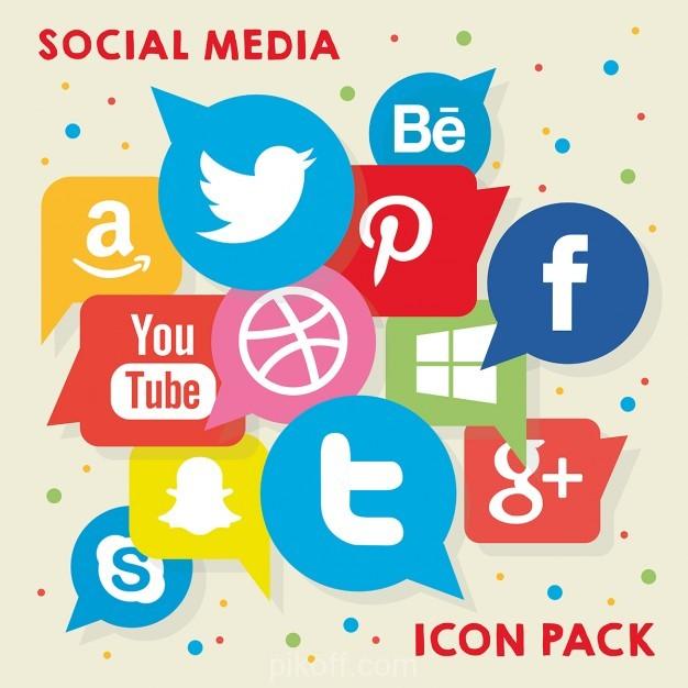 626x626 Ai] Social Media Logo Pack Vector Free Download