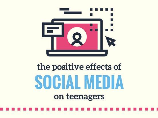 550x412 Pink Vector Social Media Technology Presentation