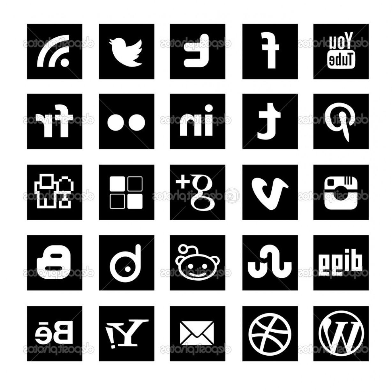 1228x1228 Social Media Logos Vector Lazttweet