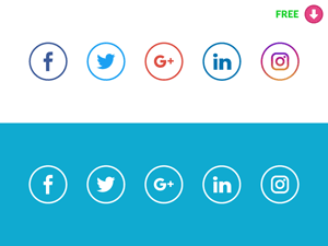 300x225 Social Media Vector Freebies Hand Picked For Download