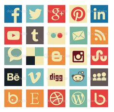 236x230 136 Best Social Media Icons Images In 2018 Design