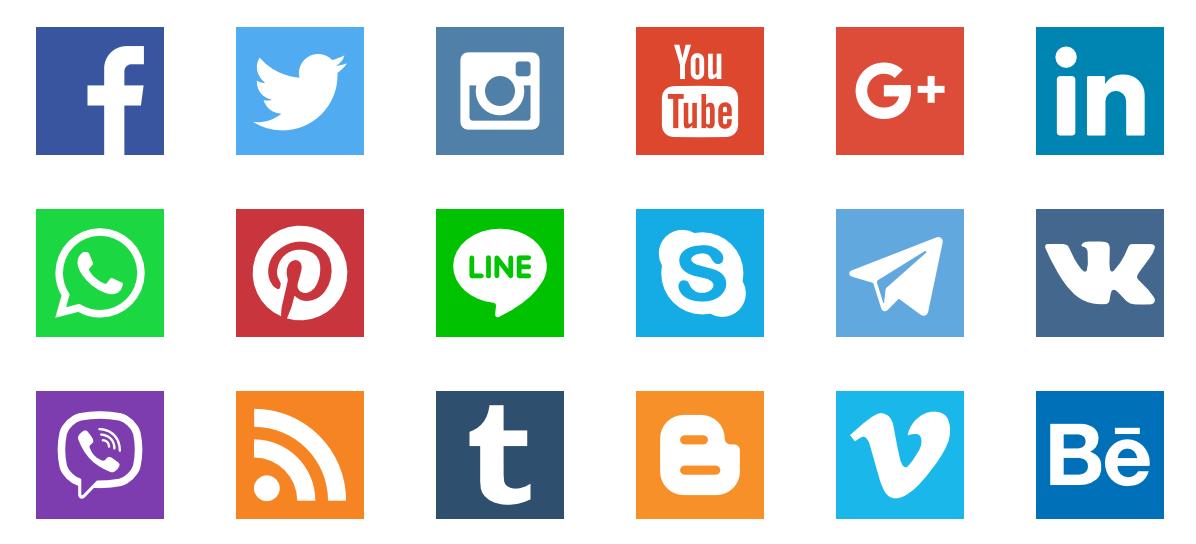 1196x544 Social Media Vector Logo See Outlook