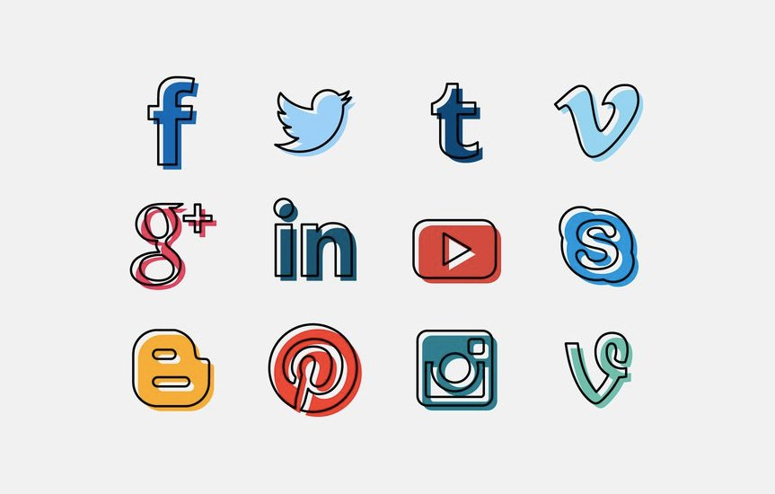 863x550 20 Free Social Media Icon Sets To Download