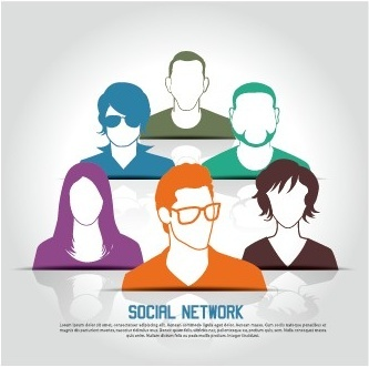 333x331 People Network Vector Free Vector Download (7,338 Free Vector) For
