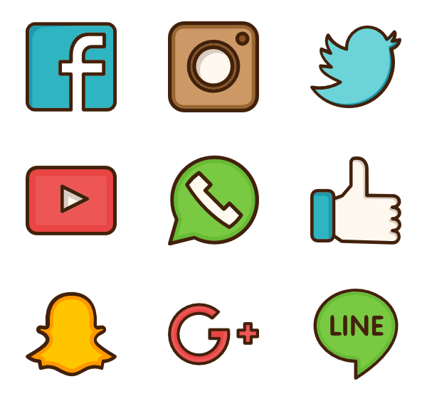 600x564 Social Media Vector Png Transparent Social Media Vector.png Images