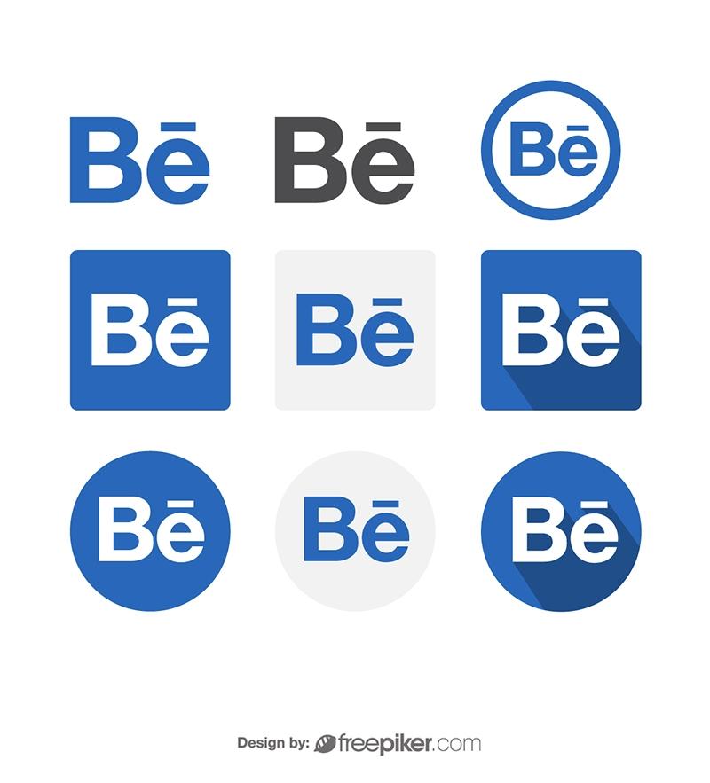 800x883 Freepiker Behance Social Media Icon Vector Icons