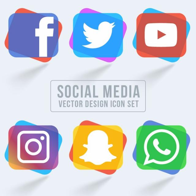 640x640 Collection Social Media Icons Style Icon Collection Png And