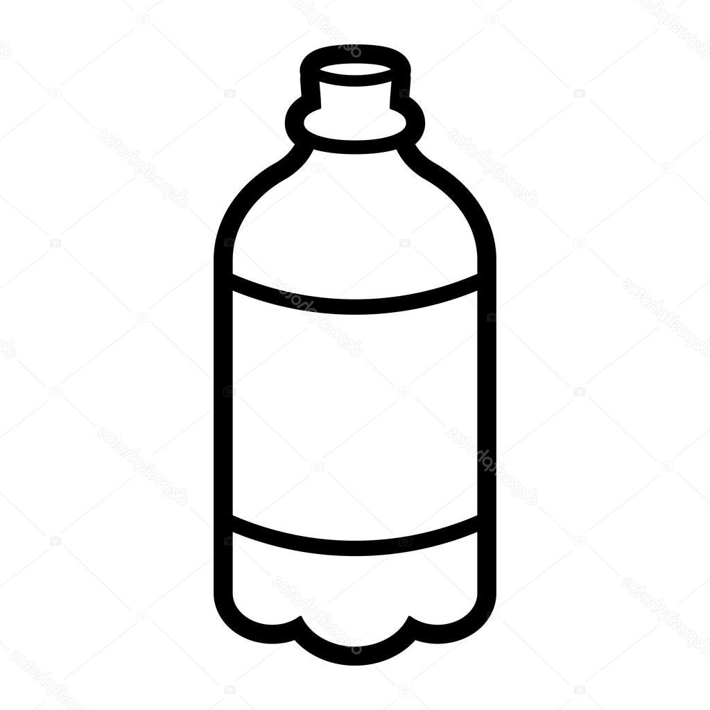 1024x1024 Best Stock Illustration Soda Pop Drink Bottle Vector File Free
