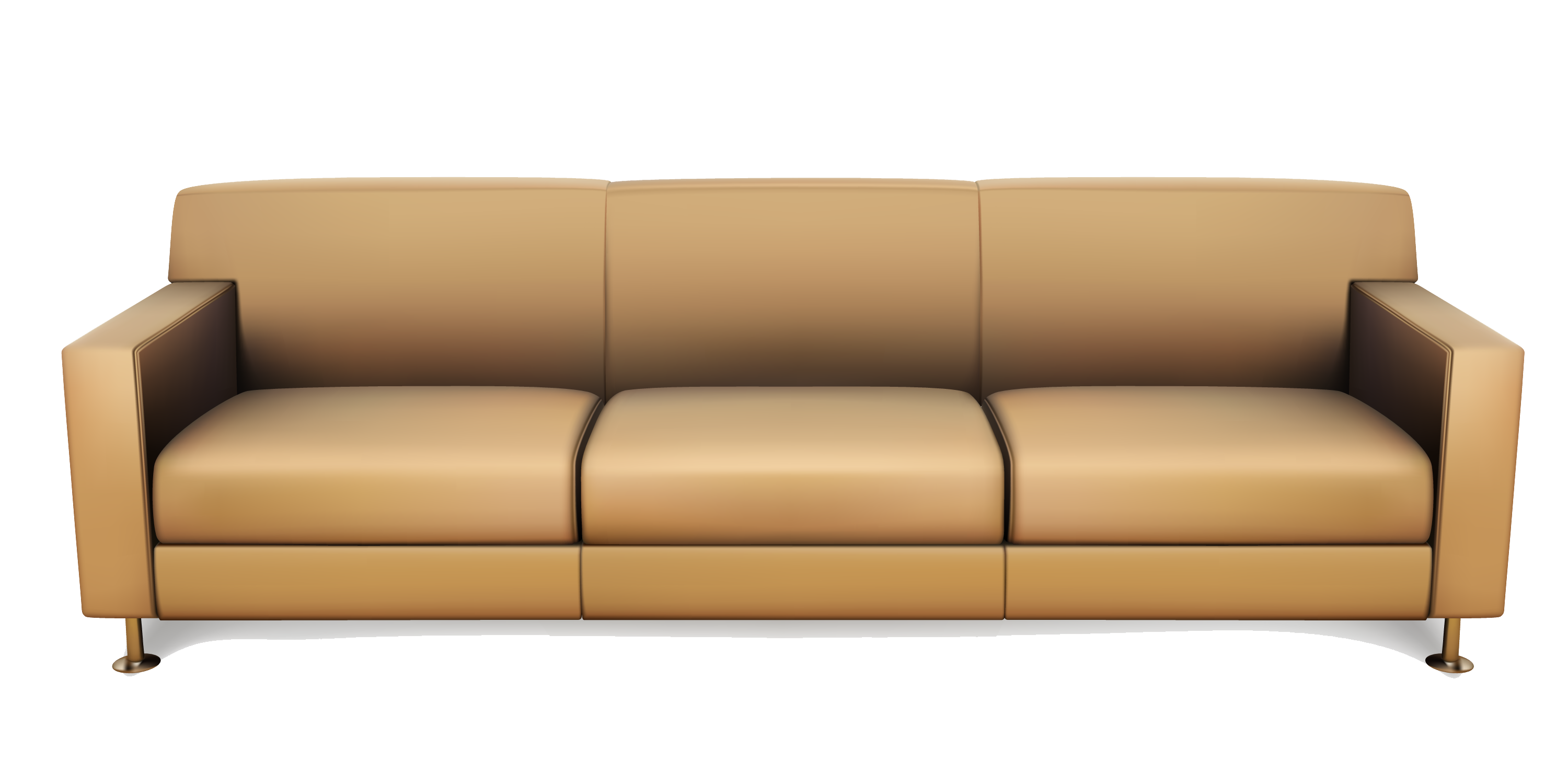3000x1500 19 Sofa Vector Brown Leather Huge Freebie! Download For Powerpoint