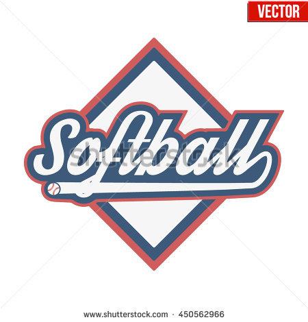 450x470 Softball Logos Softball Logo Stock Images Royalty Free Images