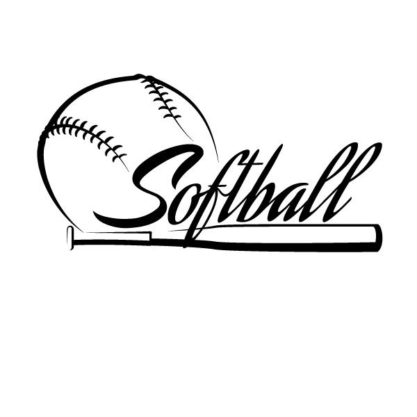 600x600 Softball Logo Images Softball The Conrad Academy Preschool
