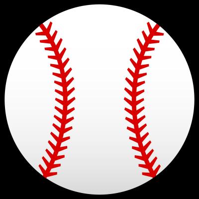 Softball Vector Art