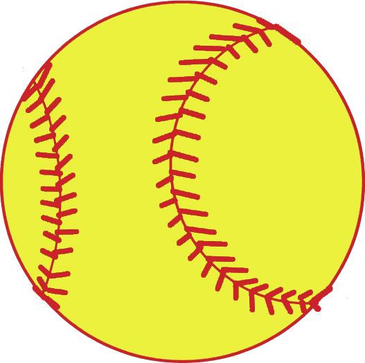 Softball Vector Free