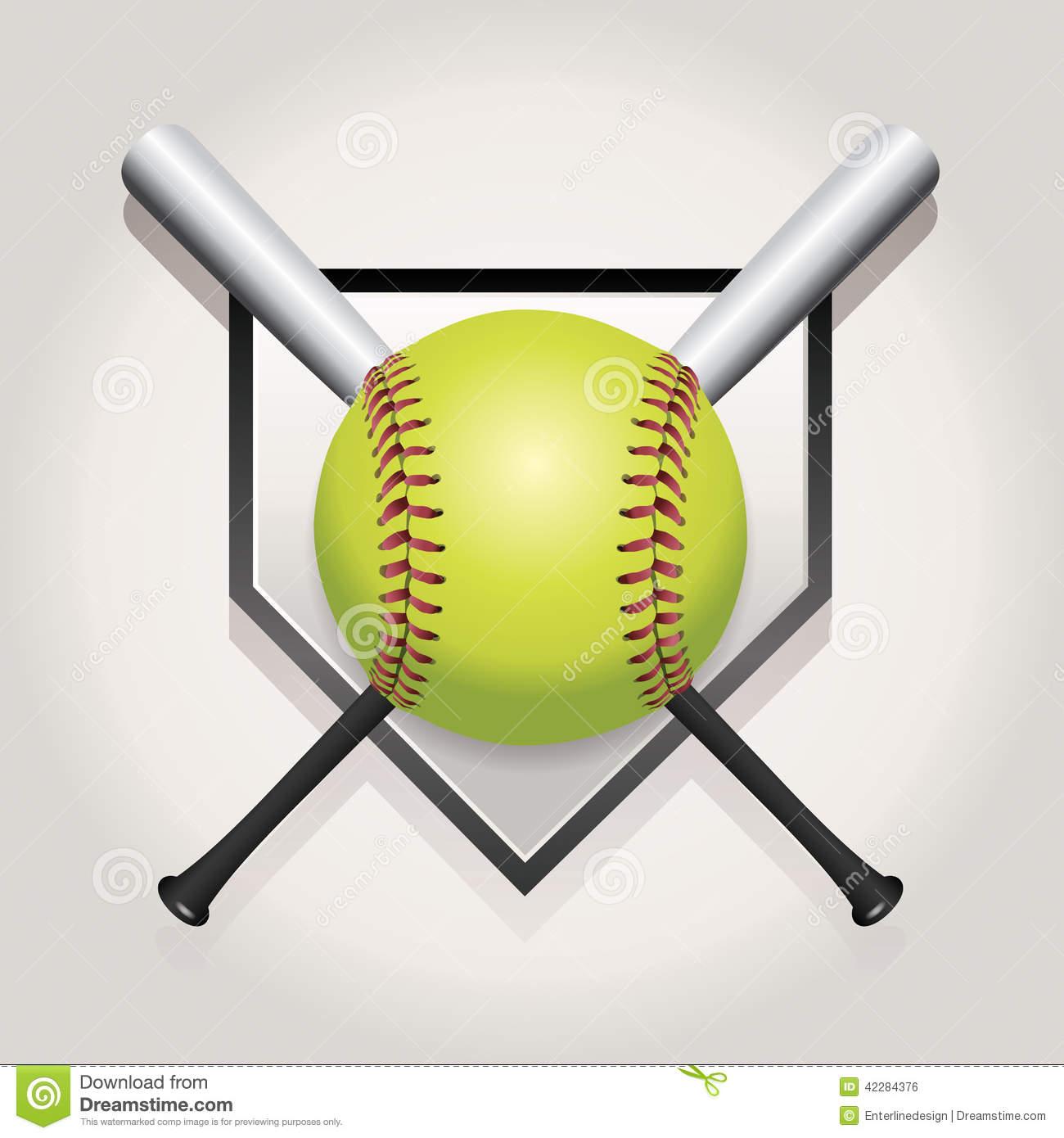 1300x1390 Softball And Bat Clipart Amp Softball And Bat Clip Art Images