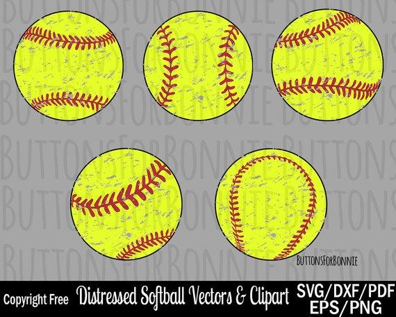 570x456 Softball Svg Softball Vector Stitching Dxf Eps Pdf Png Etsy