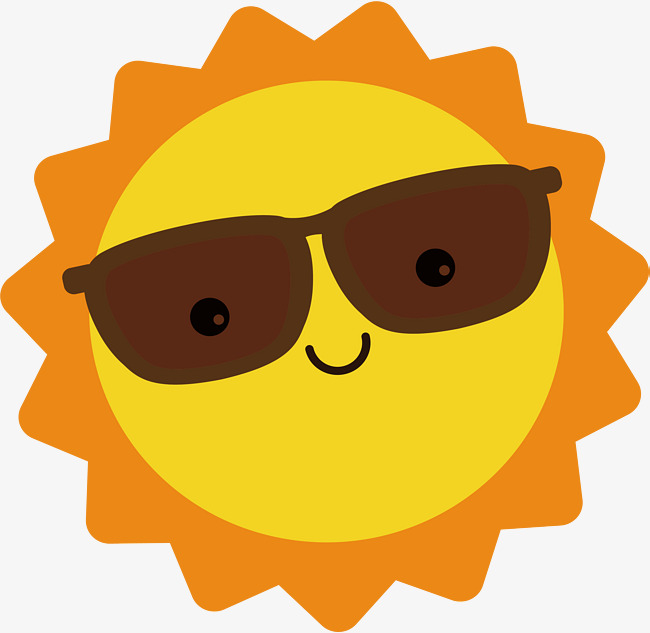 650x633 The Sun Wearing Glasses, Sun Clipart, Vector Png, Sun Png And