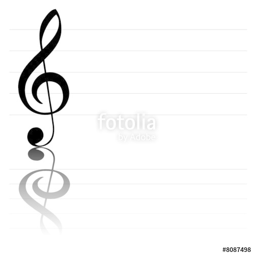 499x500 Clef De Sol Stock Image And Royalty Free Vector Files On Fotolia