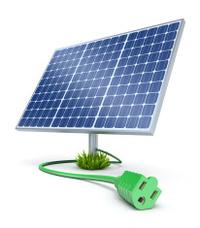 200x228 Solar Panel (Vector) Stock Vector