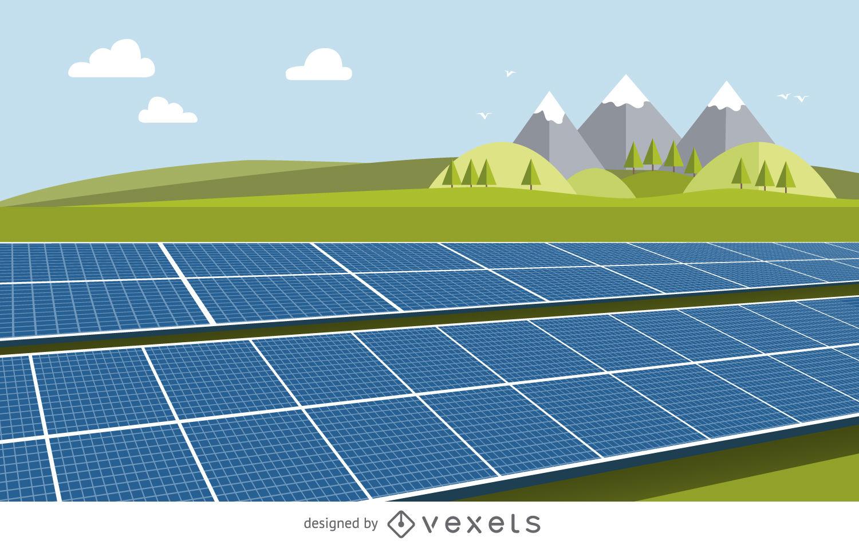 1500x949 Solar Panel Drawing