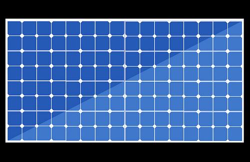 500x323 Solar Panels Vector Solar Image