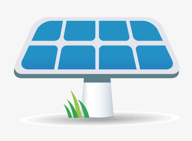 612x451 Solar Panels, Solar, Battery, Backing Png And Vector For Free Download