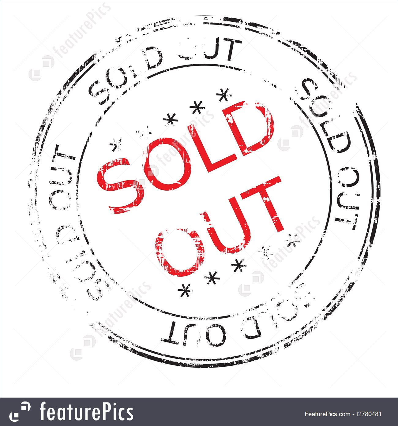1300x1392 Sold Out Grunge Stamp Vector