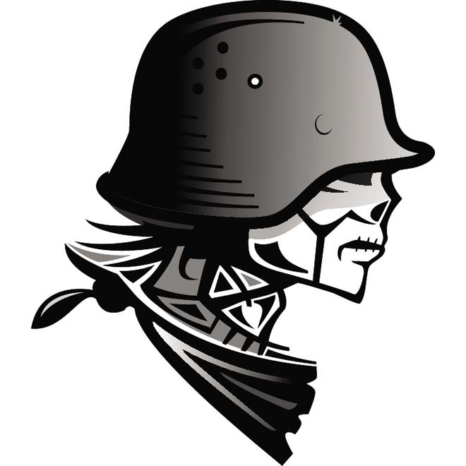 660x660 Soldier Free Vector 123freevectors