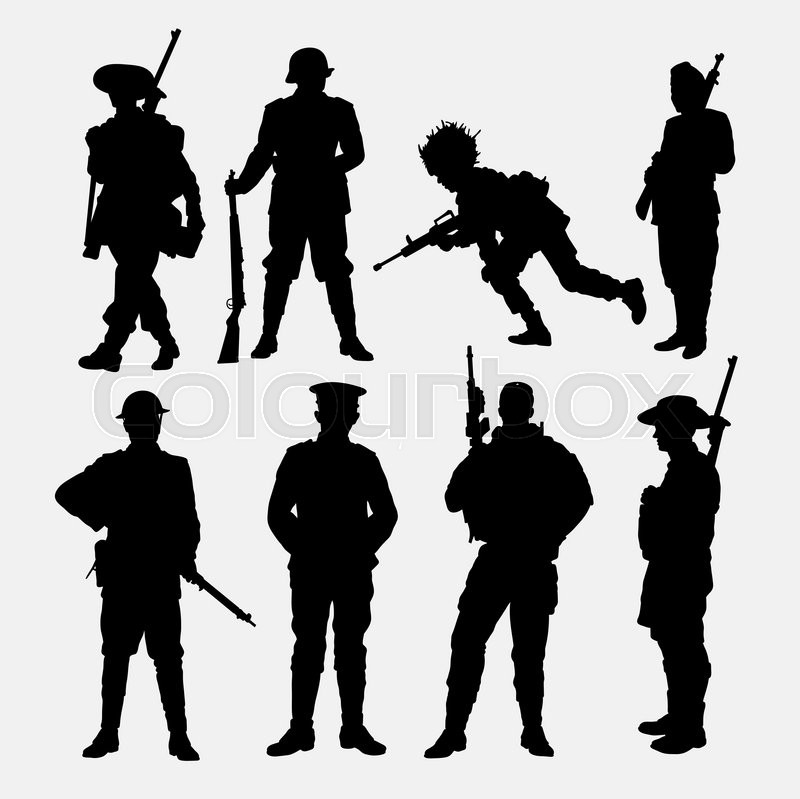 800x799 Army, Military, Soldier, Police Silhouette. Good Use For Symbol