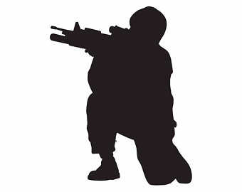 340x270 Soldier Vector Etsy
