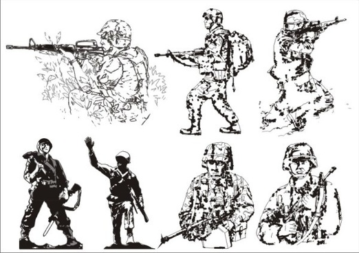 522x368 Soldier Vector Images Free Vector Download (100 Free Vector) For