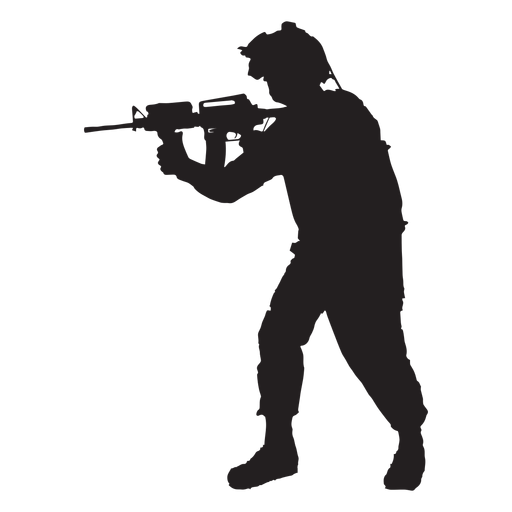 512x512 Collection Of Free Soldier Vector Silhouette. Download On Ubisafe
