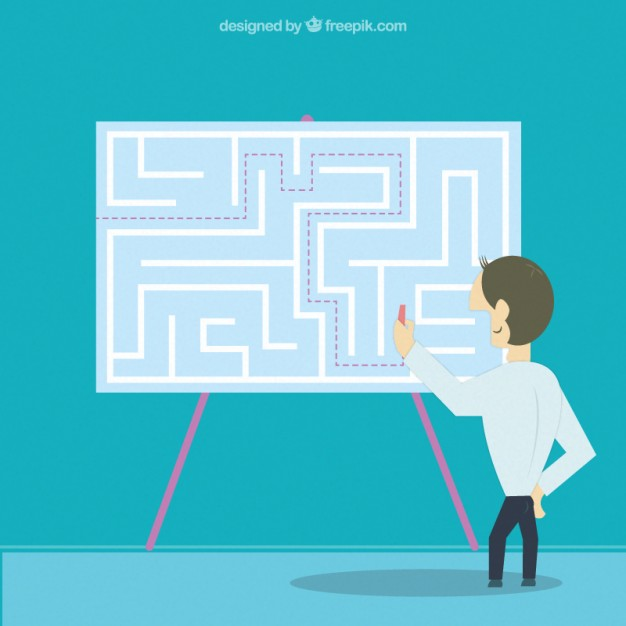 626x626 Entrepreneur Finding The Solution Vector Free Download