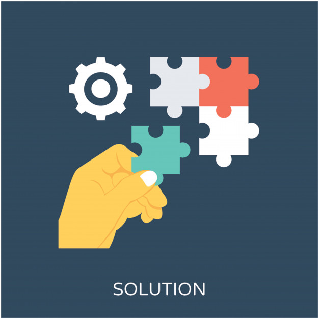 626x626 Solution Flat Vector Icon Vector Premium Download