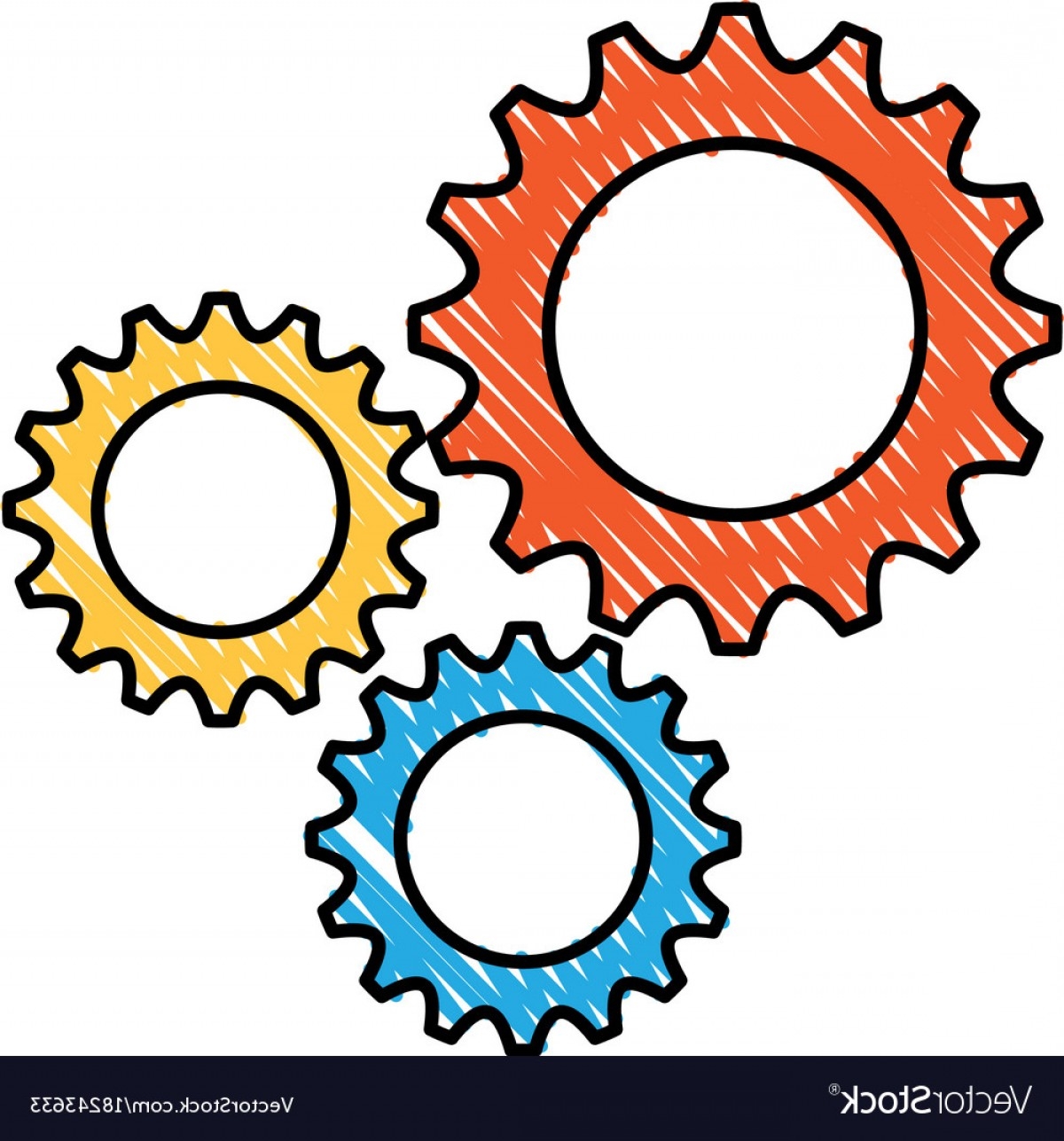 1200x1287 Business Gears Mechanical Solution Teamwork Vector Shopatcloth